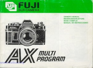 Fuji AX multi progam 2